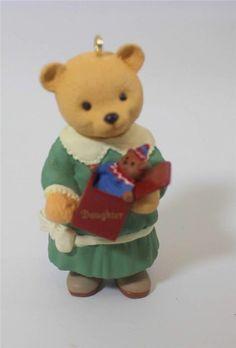 Hallmark Keepsake Chritmas Ornament Daughter Bear 1996