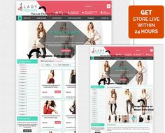 #Lady #fashion theme #ebay store & #Listing #templates Design: Get High Volume Sales!  Click our browse by #category link & find out your favorite theme template