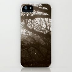 Hear the whispering through the trees ... iPhone & iPod Case by Anja Hebrank - $35.00  #dresden #germany #deutschland #tree #trees #winter #old #vintage #streetphotography #canon #present #decoration #interior #bnw #blackwhite #travelling #travelphotography #design #individual #society6 #print #art #artprint #interior #decoration #design #photography #iphone #ipod #case #cover #skin