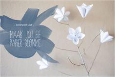 Maak jou eie papierblomme | Mooi Troues