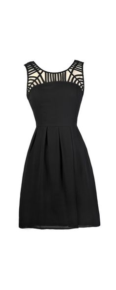 Lily Boutique Along The Neck Line Black Party Dress, $40 Cute Black Dress, Little Black Dress, Black Party Dress, Black Sundress www.lilyboutique.com