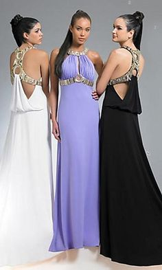 long elegant prom dresses