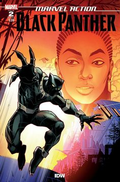 Marvel Action Black Panther No. Online Comic Books, Free Comic Books, Comic Book Covers, Comic Books Art, Book Art, Marvel Comics, Marvel Comic Books, Black Pather, Disney Classics Collection