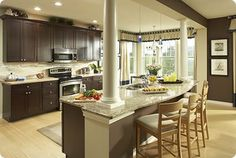 *A kitchen that is San-approved and I love it, too!