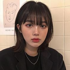 Wich one is your type/style? Short Dyed Hair, Asian Short Hair, Asian Hair, Mullet Hairstyle, My Hairstyle, Medium Hair Styles, Curly Hair Styles, Ulzzang Hair, Aesthetic Hair