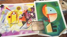 Opere di Kandinsky. http://www.tuttiquadri.it/kandinsky/