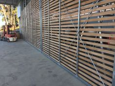 Winery doors & Slatted winery doors can be locked for security but visitors can ... pezcame.com