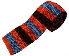 Nick Bronson - Club 2/15 Orange/Blue/Brown http://www.joesstore.co.uk/ties/ties.htm