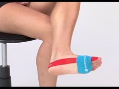 Taping for Bunion Pain Relief NOW! - YouTube