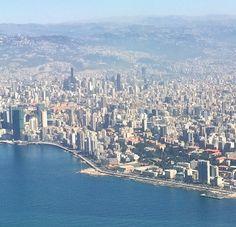 LEBANON, BEIRUT, TALLEST BLDGS IN ASHRAFIEH