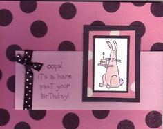 pink_black_bunny_by_elizard by elizard - Cards and Paper Crafts at Splitcoaststampers