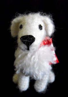 """Crocheted Amigurumi Dog - free crochet pattern"" #Amigurumi  #crochet"