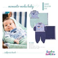 Moda Bebê | Moda Baby | Macacão | Saída Maternidade
