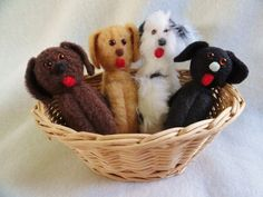 Dog Dolls by Joelle's Dolls  Puppies Hounds and by JoellesDolls, $5.00