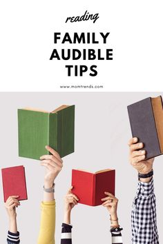 How to use Audible for your family. Fantasy Books To Read, Books To Read For Women, Book Tv, Any Book, Reading Books, Love Reading, Life Changing Books, Happy Mom, Mystery Books