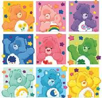 Care Bear Collage Cross Stitch Pattern