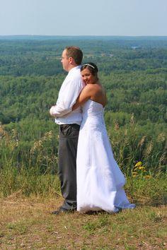 Ryan & Erin, Married. Iron Mountain. Photo by Meghan Straveler. #wedding #photography