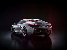 Llega a Ginebra el futurístico prototipo eléctrico Quant 48Volt  #prototipo #auto #automóvil #quant