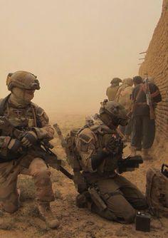 Danish soldiers in Afghanistan.