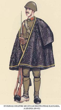 Esercito Greco - Maggiore, Albania 1940