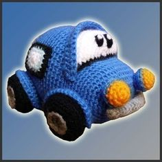 Amigurumi Pattern Crochet PDF - Little Car on Etsy, $4.20