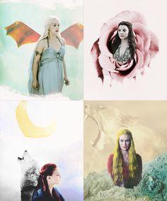 Fan Art of Queen for fans of Game of Thrones. queen noun.  sovereign, ruler, monarch, leader.