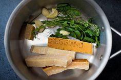 Parmesan Broth Risotto Milanese