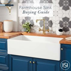 Buy the Signature Hardware 433930 White Direct. Shop for the Signature Hardware 433930 White Torun Farmhouse Single Basin Fireclay Kitchen Sink and save. White Farmhouse Sink, Fireclay Farmhouse Sink, Farmhouse Sink Kitchen, Kitchen Decor, Farmhouse Decor, Kitchen Ideas, Kitchen Inspiration, Fireclay Sink, Diy Kitchen