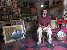 Joe's Daily Exclusive: Interview with Wayne White, the creator of Pee Wee's Playhouse props. Amazing dude!