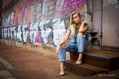 Street Style outfit blond rivets ootd