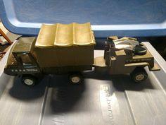 1979 Australian Mini Tonka Military / Army Truck & Radar Trailer Set #1948  | eBay