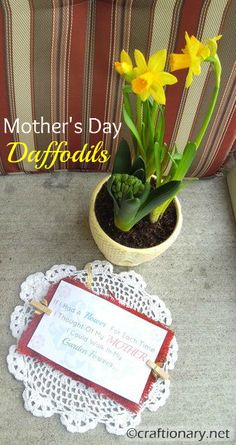 Mother's Day poem- free printable