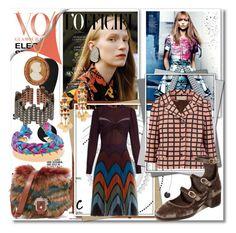 """Rock the Look in Print!!"" by stylediva20 ❤ liked on Polyvore featuring Mary Katrantzou, Marni, Paula Cademartori, Free People, Tory Burch, Brigid Blanco, Aurélie Bidermann and MAHA LOZI"