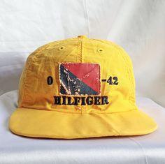 Vintage 90s Tommy Hilfiger Sailing Gear 42 USA Snapback Hat Cap RAP HIP HOP RARE  http://www.ebay.com/itm/152092500848  #Vintage #90s #TommyHilfiger #SailingGear #TH #Flag #Spellout #BigLogo #MultiColor #ColoorBlock #USA #Yellow #Snapback #Hat #Cap #RAP #HipHop #RARE