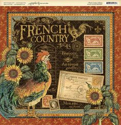 Graphic 45 French Country collection