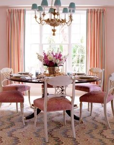 Florida Beach Front - traditional - Dining Room - Miami - MICHAEL WHALEY INTERIORS, INC
