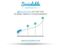 101 top tips to drive traffic to your website