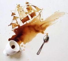 Imagen de art and coffee