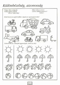 Fotó: Preschool Worksheets, Preschool Activities, Math For Kids, Kindergarten Math, Pre School, Special Education, Kids And Parenting, Clip Art, Album