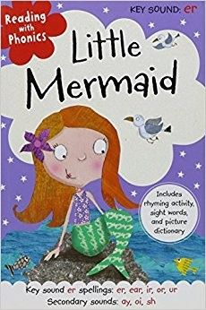 Little Mermaid (reading with phonics) • English Wooks