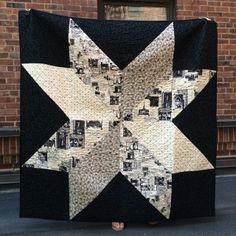 Our PR coordinator Hayden made this wedding quilt for a friend using Timeless Paris fabrics! Pattern is the Giant Star Quilt from In Color Order.