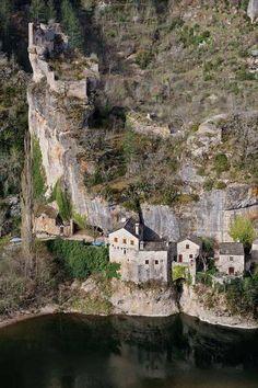 Castelbouc and its castle in lozère