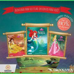 #DicaCia Fantasia, magia, personagens da Disney e muita diversão com a Editora Girassol aqui na Cia.   Confira a vitrine e prepare-se para o Dia das Crianças com muito estilo!   Clique na imagem para conferir!