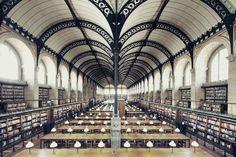 Bibliothèque Sainte-Geneviève - Paris