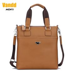 Aliexpress.com : Buy Vandd Men's Yellow Soft Genuine Leather Vertical Tote Handbag Casual Zipper Strap Messenger Shoulder Bag from Reliable eyebrow piercing shop suppliers on Vandd Men. $82.00