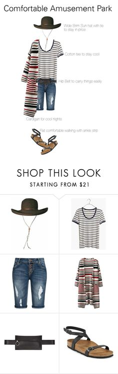 """""""Amusement Park Style"""" by catrichedalgo ❤ liked on Polyvore featuring Madewell, Off-White and Birkenstock"""