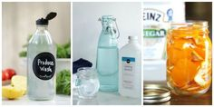 If hard-to-pronounce chemicals have you thinking twice about store-bought cleaners, give these homemade versions a try.