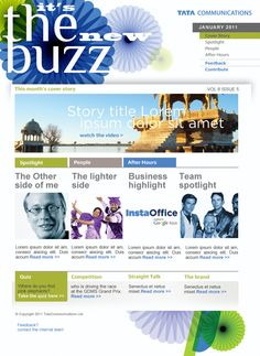 Internal Communications - Employee Newsletter - Tata Communications 2012
