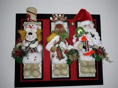 Christmas Stockings, Christmas Diy, Christmas Wreaths, Christmas Decorations, Holiday Decor, Navidad Diy, Ideas Para, 3 D, Origami