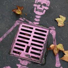 pink skeleton :)